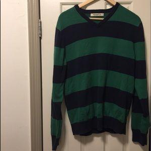 Men's large old navy strip sweater